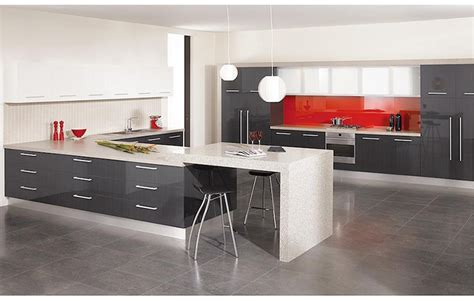 grey gloss kitchen cabinets gray lacquer kitchen cabinets quicua