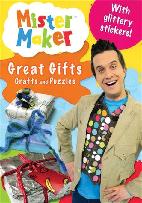 mr maker crafts for mister maker great gifts crafts and puzzles scholastic