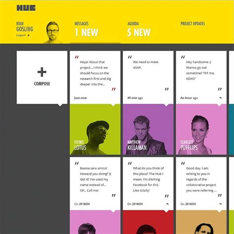card site 2016 graphic and web design trends to pay attention to