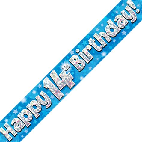 Baby Shower Sashes by Banner 14th Birthday Blue Gee Tee S Uk
