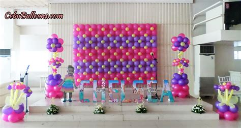 decorations designs bongga decor packages cebu balloons and supplies
