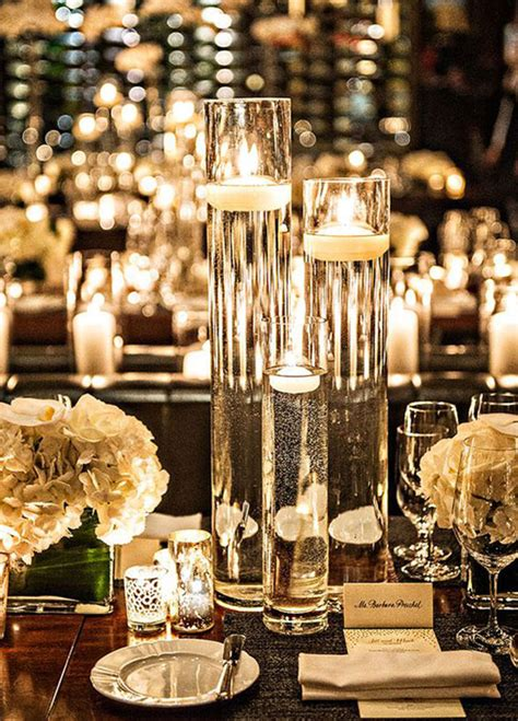 candle in water centerpiece candles in water wedding centerpieces www pixshark
