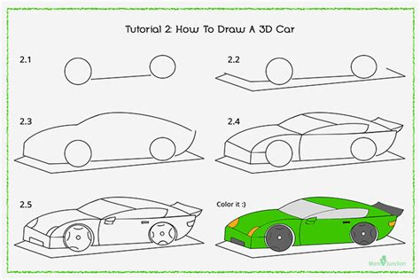 how to draw a car 8 steps with pictures wikihow how to draw a car step by step for