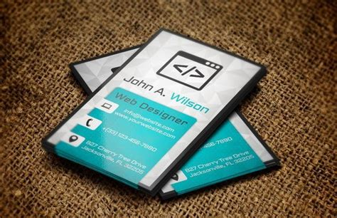 what company makes cards 50 best free psd business card templates designscrazed