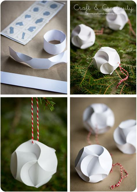 paper craft ornaments julpyssel i papper paper crafts craft