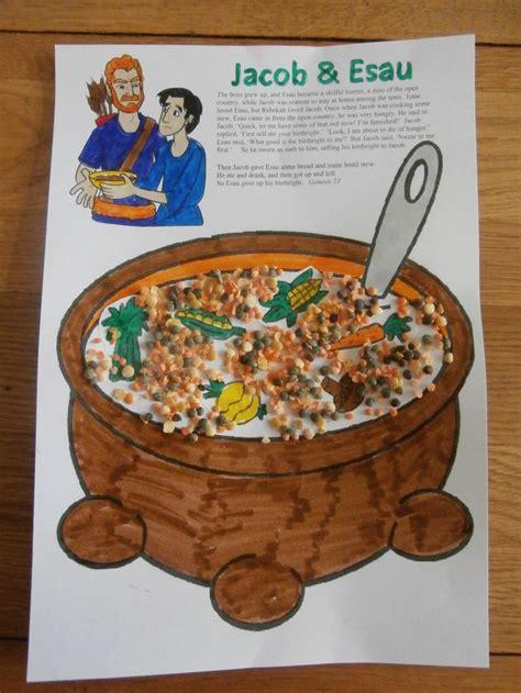Jacob And Esau Lentil Stew Craft Christian Ideas