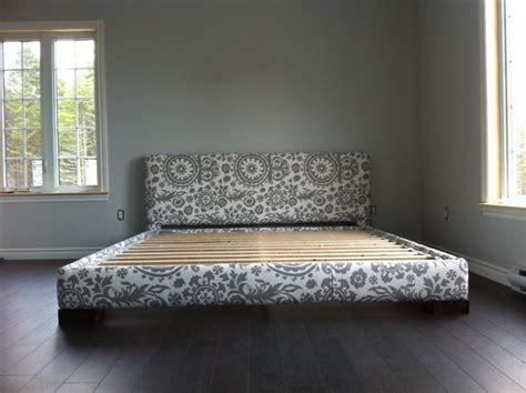 size upholstered bed frame white upholstered bed frame king size diy projects