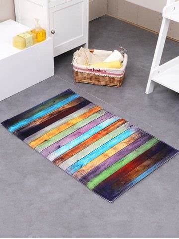 colorful bathroom rugs colorful 50 80cm colorful stripe antislip floor bathroom