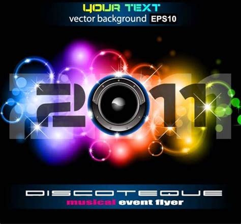 Car Wallpapers Free Psd Flyer by Set Of Musical Event Flyer Backgrounds Vector Free Vector