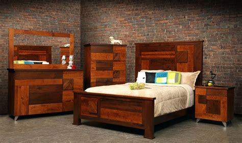 custom bedroom furniture crafted arial fields modern walnut cherry bedroom