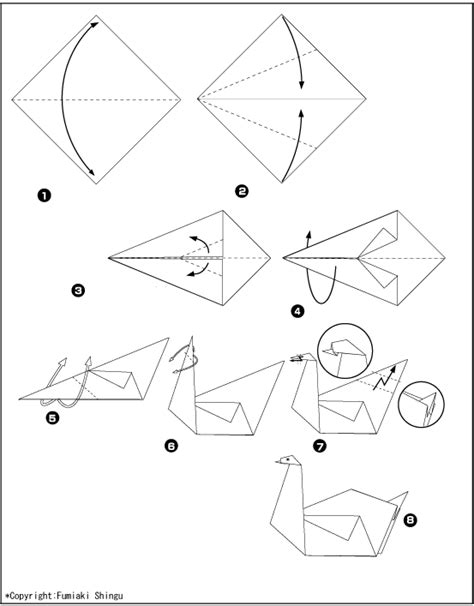 origami schwan origami schwan faltanleitung dekoking