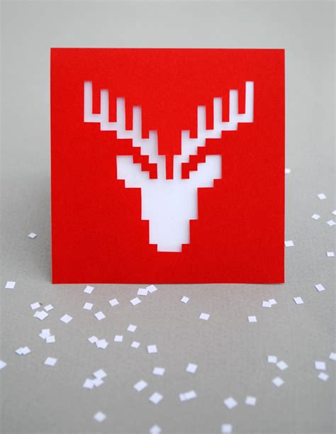 how to make a pixel pop up card how to make 3d pixel pop up cards made