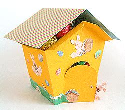 all free crafts printable easter egg house