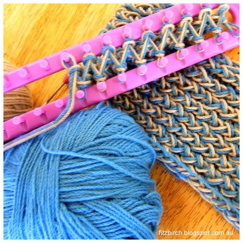 how to loom knit a scarf on loom loom knitting crafts