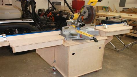 best miter saw for woodworking build the woodworking miter saw station pt 2