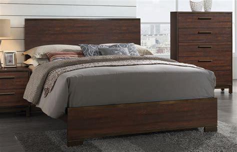 edmonton bedroom furniture edmonton rustic tobacco platform bedroom set 204351q