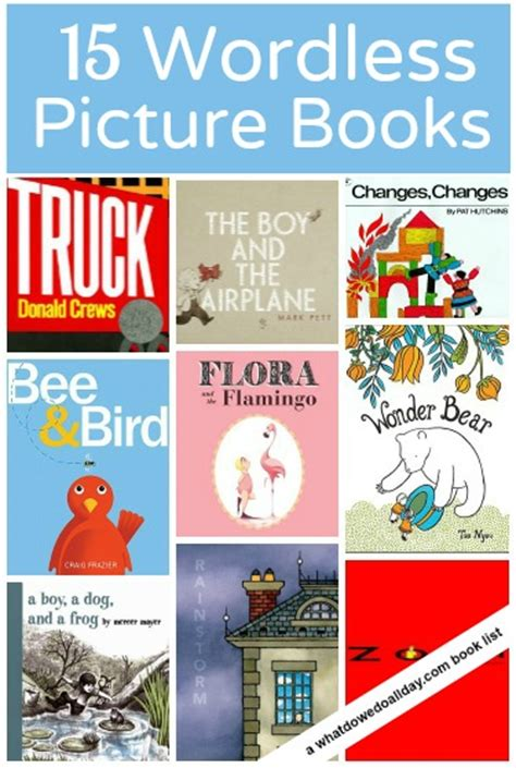 wordless picture book activities 15 wonderful wordless picture books