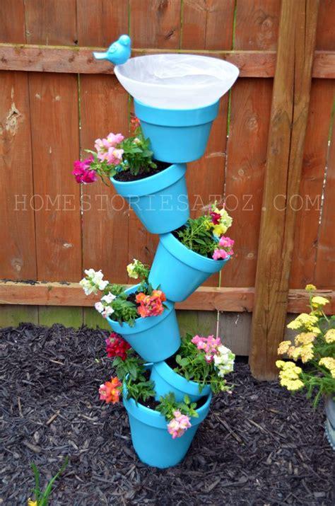 Garden Diy Diy Garden Planter Birds Bath Home Stories A To Z