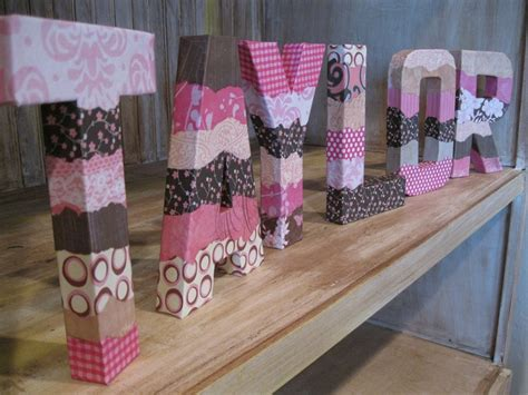 decoupage wood letters 17 best images about letters on initials