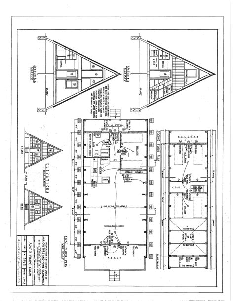 a frame cabin floor plans woodwork a frame cabins plans pdf plans