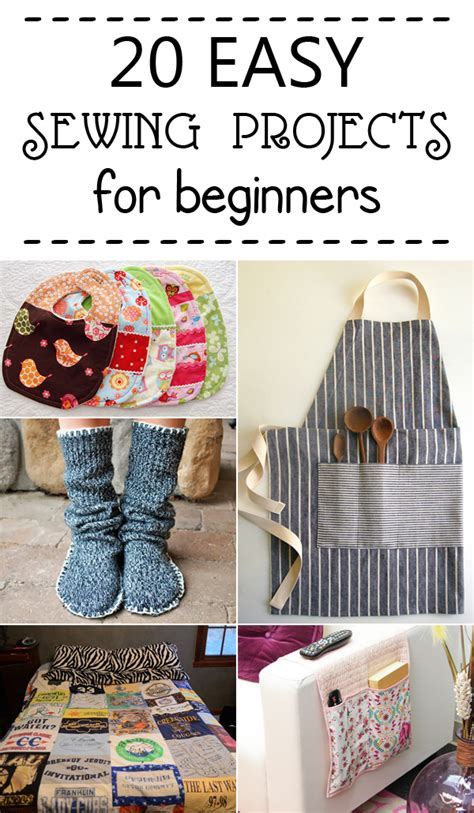 easy sewing crafts for 20 easy sewing projects for beginners
