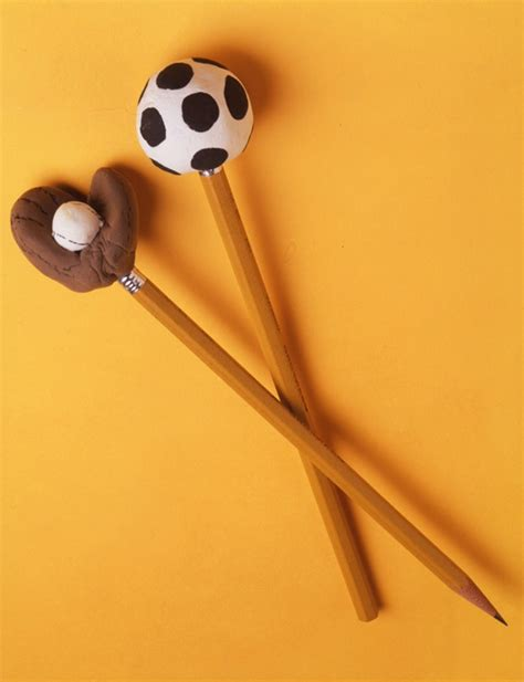 sports crafts for sport pencil toppers craft crayola