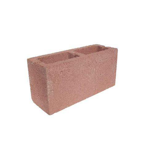 Angelus Block 6 In X 8 In X 16 In Pink Concrete Block