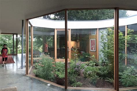 the courtyard house home design garden architecture