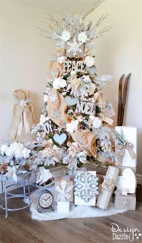 modelos de decoraciones de arboles de navidad 15 ideas preciosas para decorar arbol de navidad
