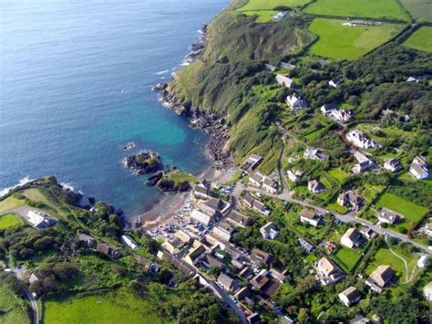 Enlargement of Cadgwith Cove by Sky High Photographs