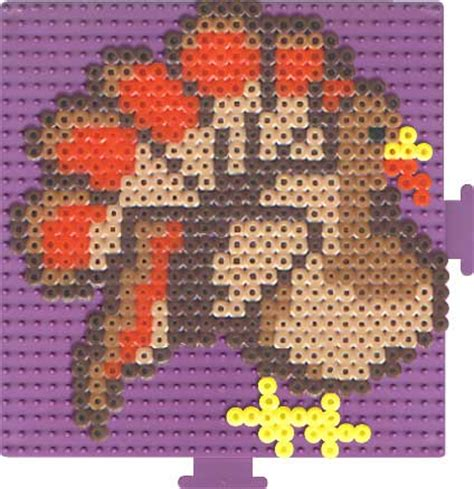perler bead turkey pattern patterns for perler free patterns