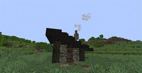 slanted roof house slanted roof house minecraft project