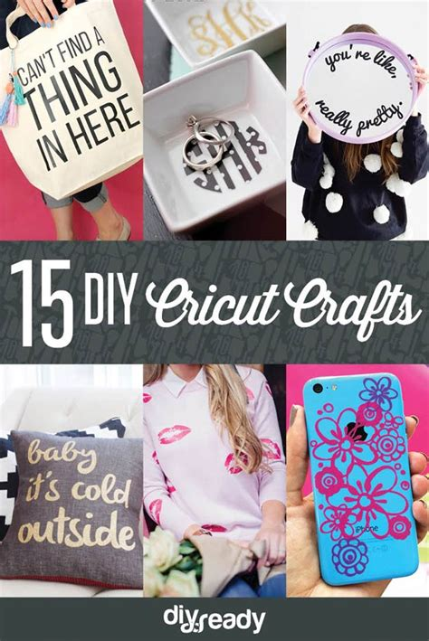 cricut craft projects 15 diy cricut crafts ideas diyready