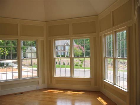 Bow Window Construction Detail raleigh contractors custom kitchens decks remodeling