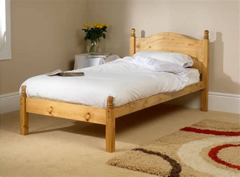 single wooden bed frame friendship mill orlando low foot end 2ft6 small single