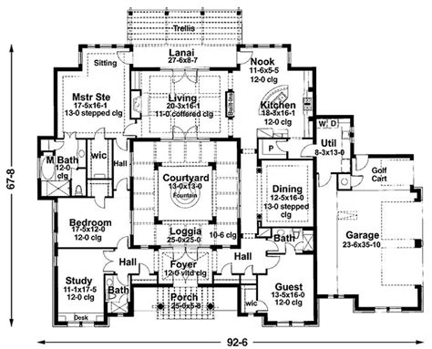 mediterranean house plans with courtyard the 25 best courtyard house plans ideas on house plans with courtyard courtyard