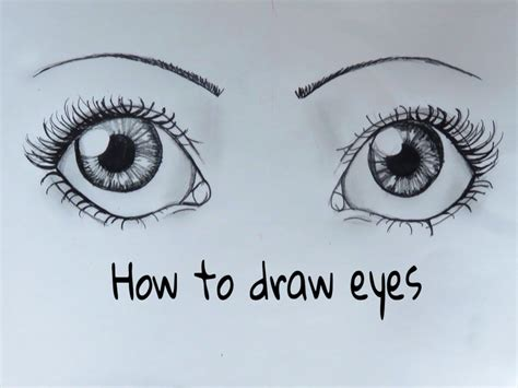 how to draw a eye how to draw