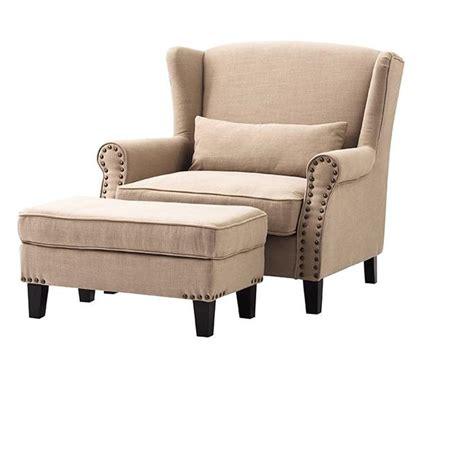 home decorators ottoman home decorators collection zoey beige linen arm chair