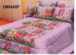 strawberry shortcake bed set bedsheet strawberry shortcake set d 9458f moresales