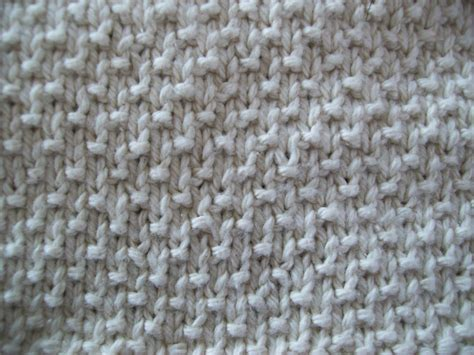 knit stitches that lay flat about knitting sand stitch