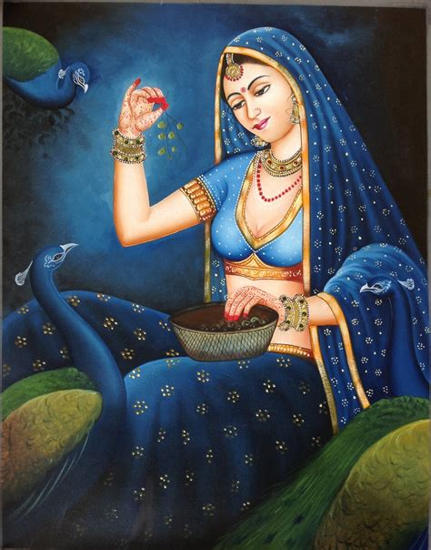 indian painting pictures rajasthani painting handmade indian nayika damsel
