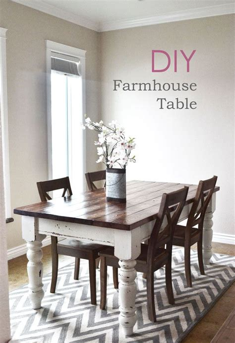 diy small kitchen table diy farmhouse kitchen table nap times farmhouse table