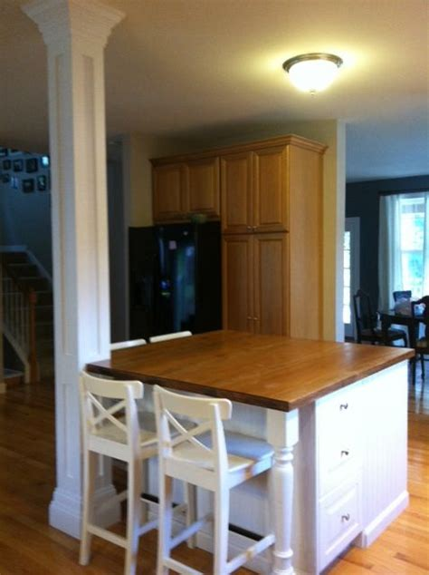 Custom Design Kitchen Islands beautiful white kitchen island to contrast hardwood floors