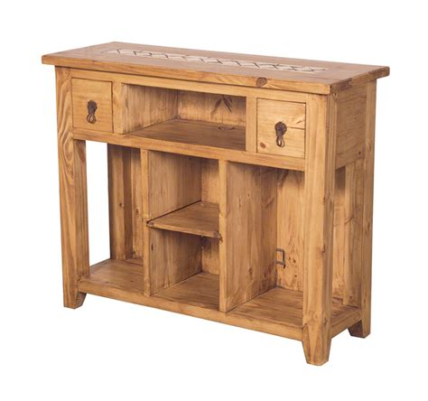 end sofa table rustic end tables mexican rustic furniture and home