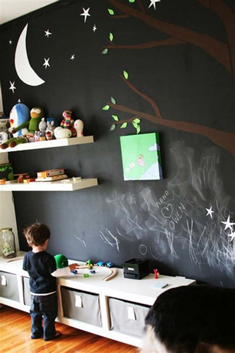 chalkboard paint room 36 exciting ideas to decorate rooms with colored