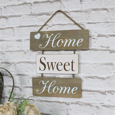 hanging plaque home sweet home hanging wall plaque melody maison 174