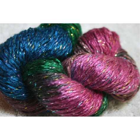 glitter yarn knitting duke silk lurex glitter yarn 003