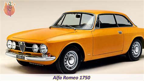 Alfa Romeo History by List Of Alfa Romeo Models Cars Made History Of