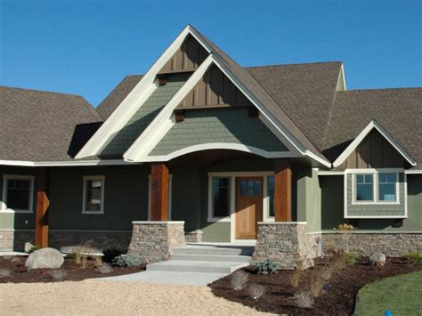 exterior paint colors house brown roof outside porch light green exterior house colors with
