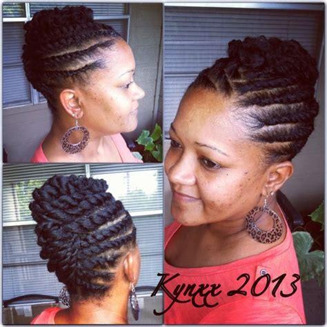 pondo hairstyles for black american flat twist updo natural hair hair pinterest flat